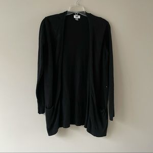 Old navy black tunic cardigan